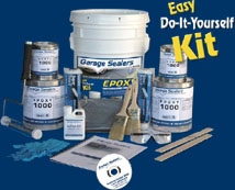 Garage floor coating paint how to garage floor tips for do it garage sealers floor paint is the industry leader in do it yourself epoxy products using proven coating technologies you can now achieve solutioingenieria Choice Image