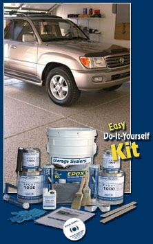 Epoxy concrete floor paint coating kits industrial-grade products that will insure you obtain the top-quality results